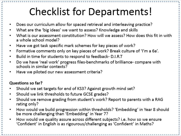 checklist 5