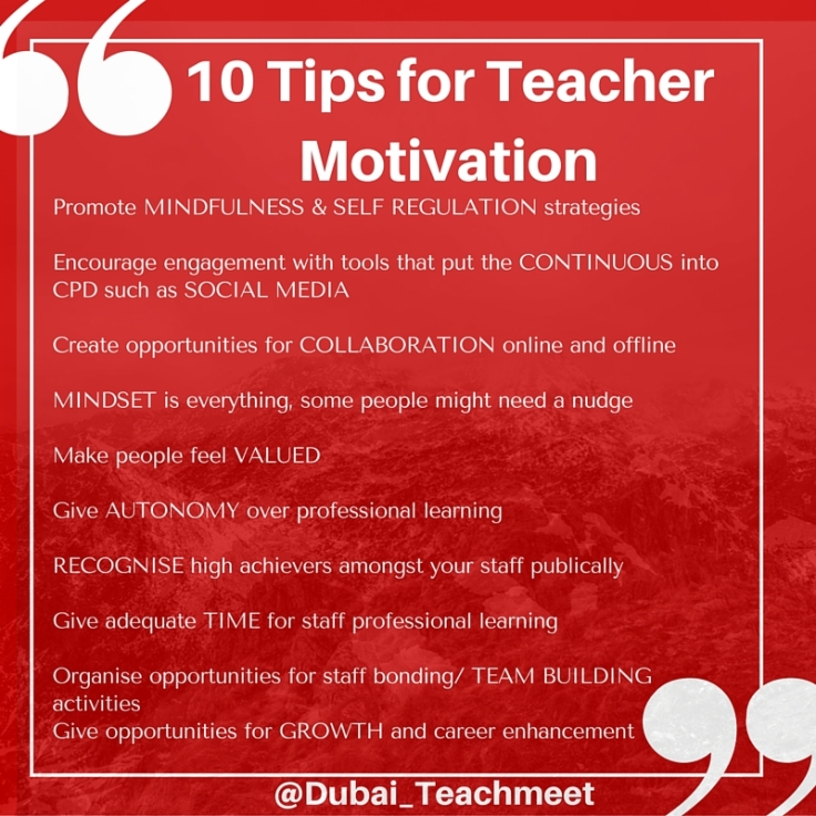 Teacher Motivation
